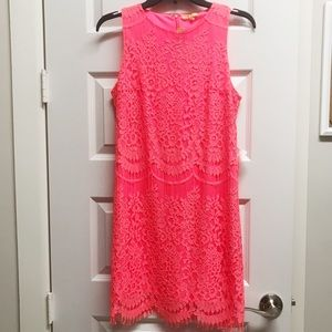 Gianni Bini Lace Sheath Mini Dress